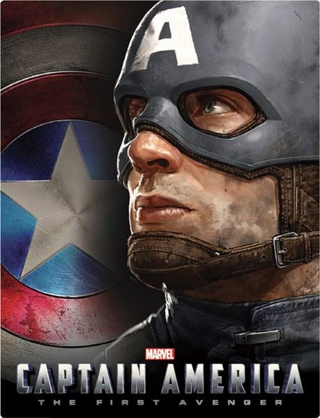 キャプテン・アメリカ スチールブック