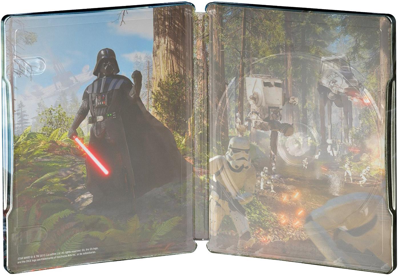 Star Wars バトルフロント スチールブック