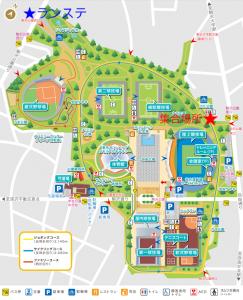 駒沢公園集合場所