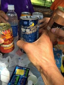 駒沢終了後の乾杯