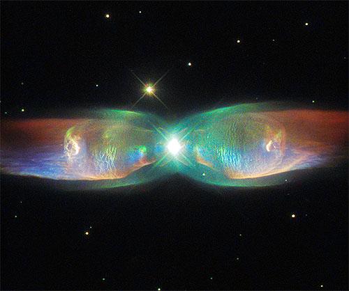 蝶の羽・ツインジェット星雲