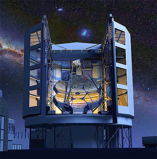 Chapter-566 次世代巨大望遠鏡は未完成で進行形 巨大マゼラン望遠鏡