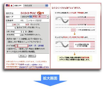トラリピ注文画面004