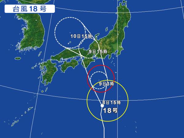 H27 台風18号