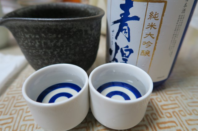 青煌 純米大吟醸 (4)