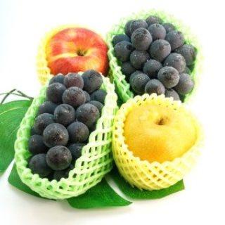 ぶどう と なし と リンゴ