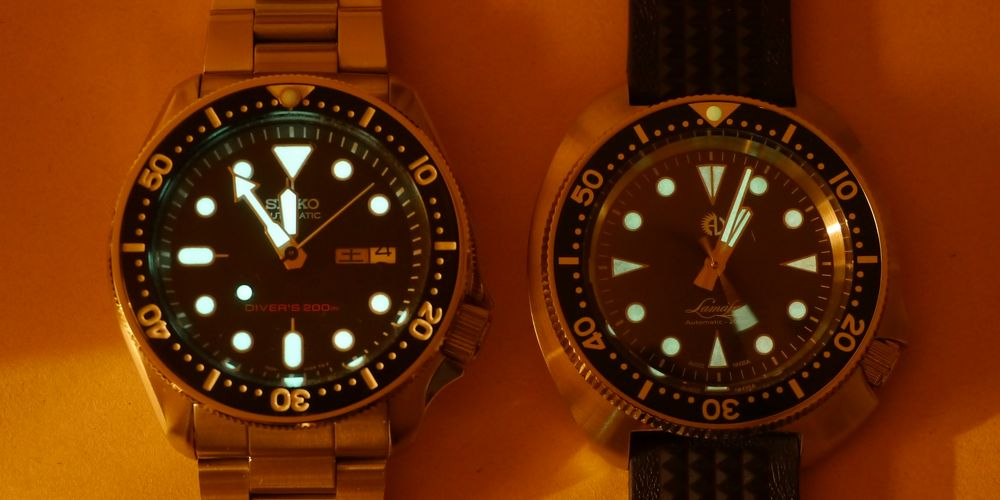 Athaya Vintage Lamafa Diver Watch A16
