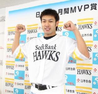 【ソフトバンク】柳田悠岐が月間MVP、トリプルスリー達成へ「プレッシャーない」