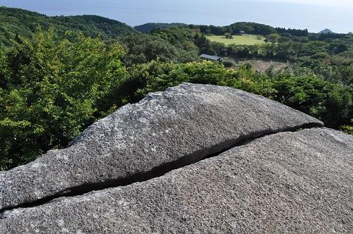 千畳敷岩から唐人駄馬