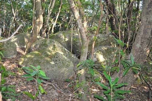 石の集まる場所