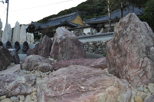 金剛福寺の石庭1