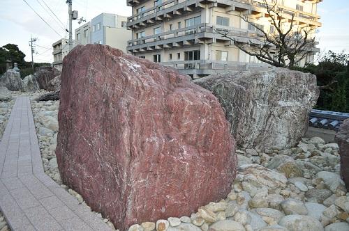 金剛福寺石庭の石
