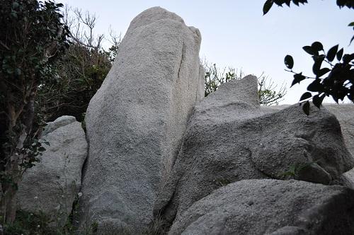 足摺岬のミニ唐人石2