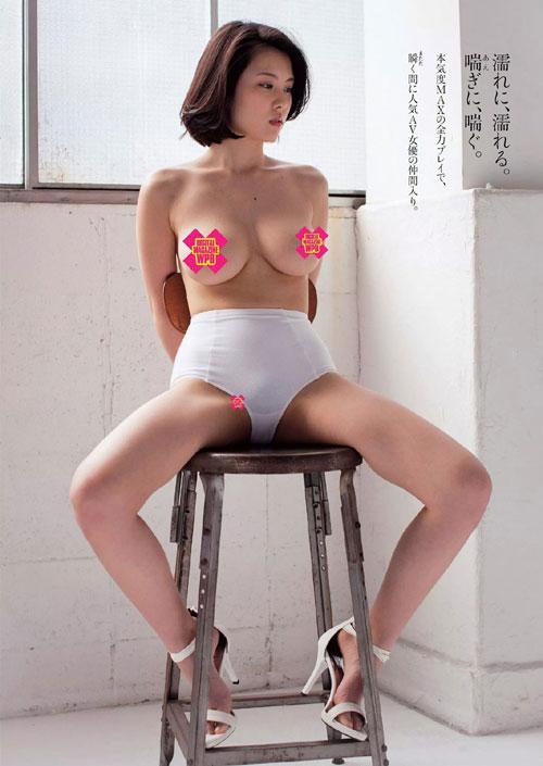 松岡ちなのHカップ巨乳おっぱい46