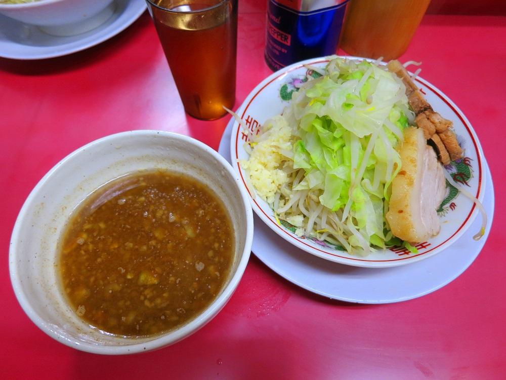 うどん粉つけ麺1
