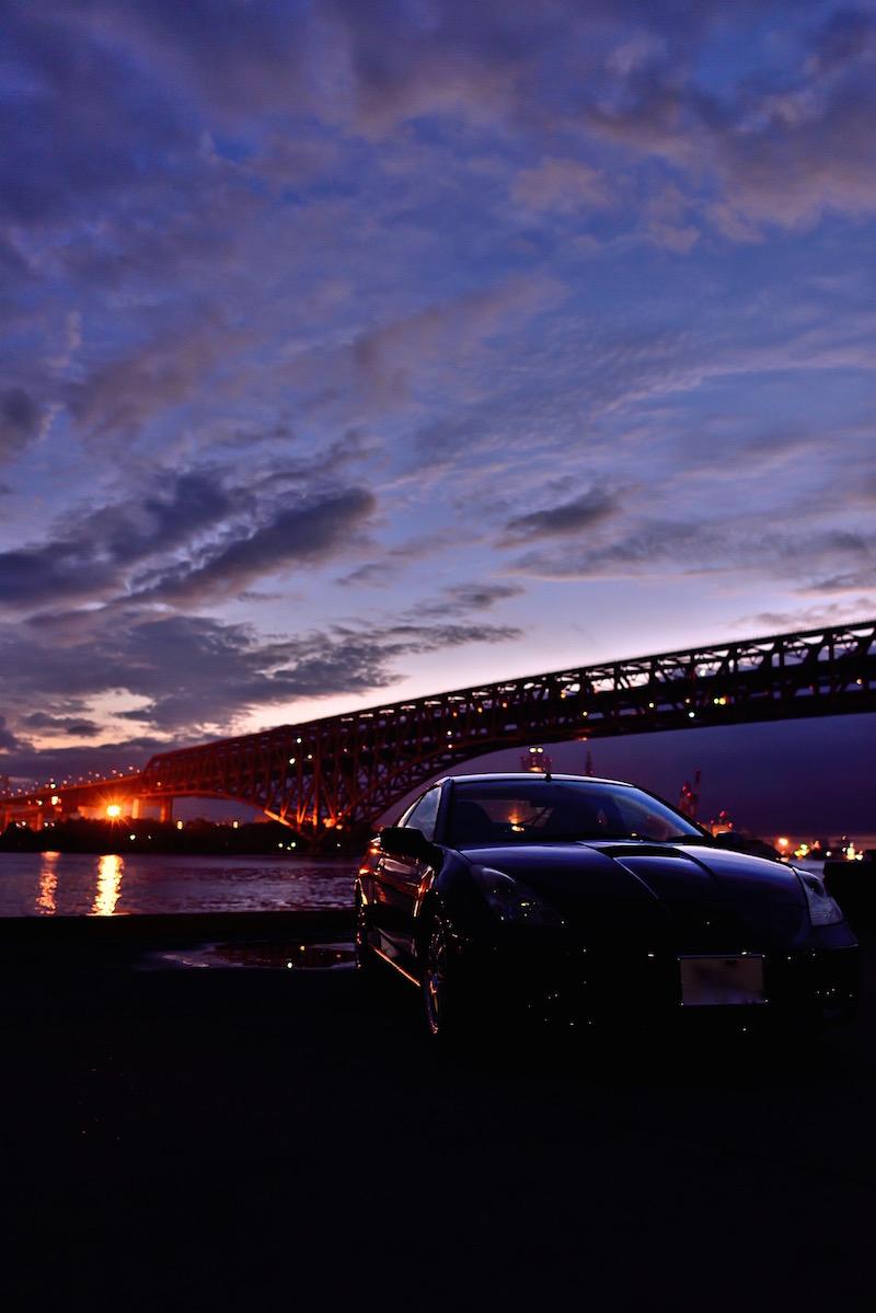 大阪港 第七岸壁 夕景