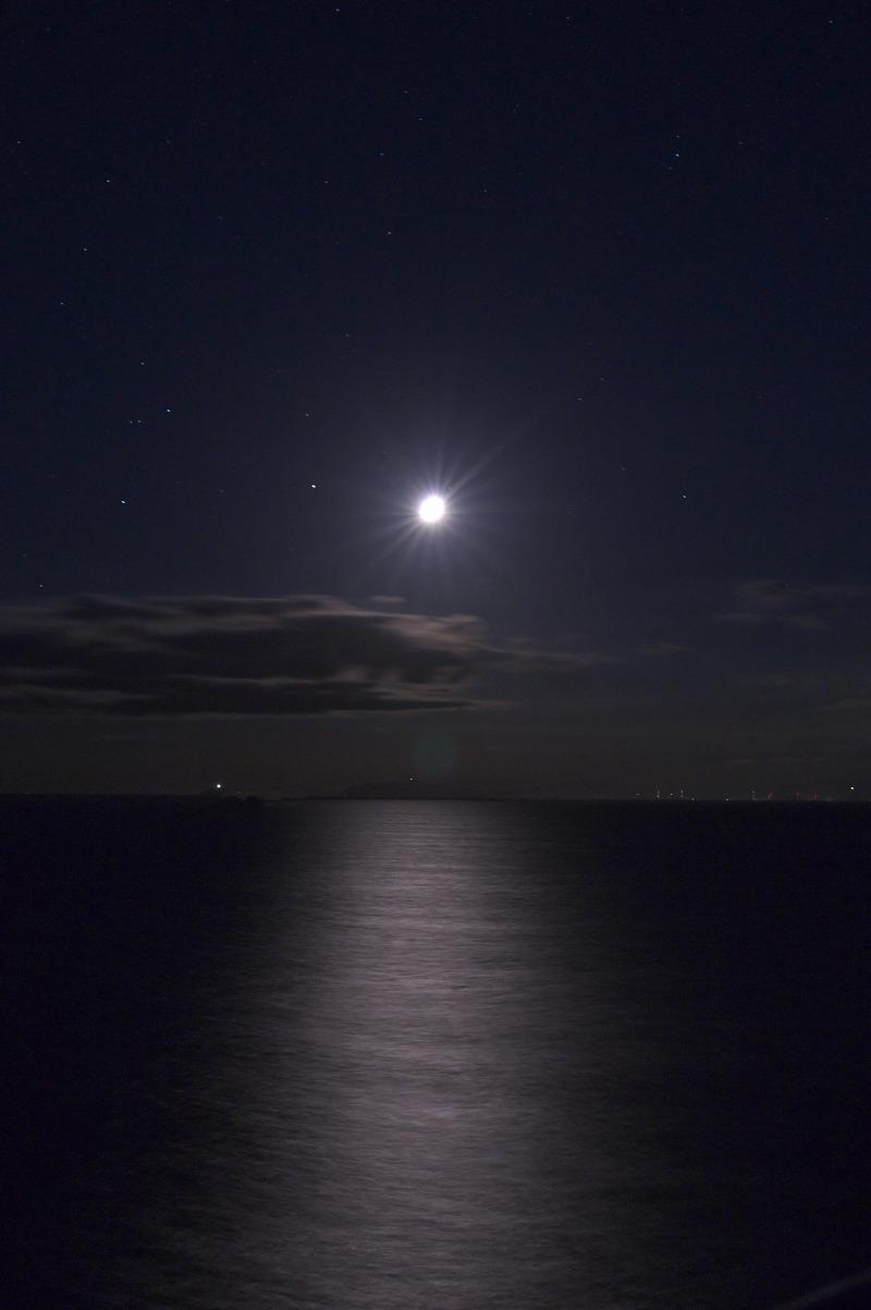 白崎海洋公園 月明かり