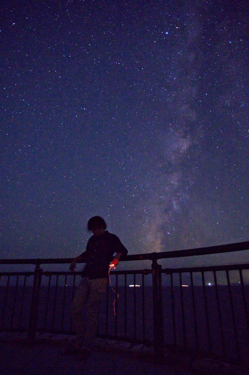 白崎海洋公園 満天の星空 天の川