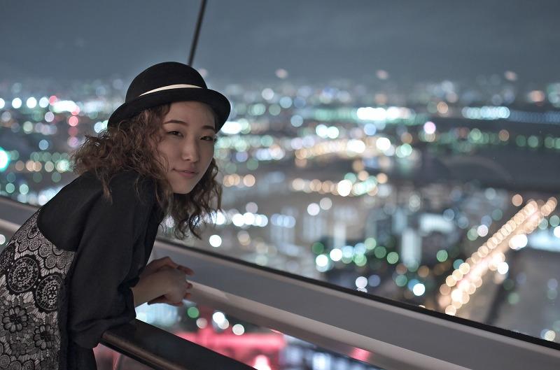 大阪府咲洲庁舎 展望台 ポートレート