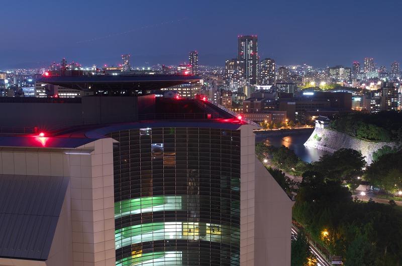 大阪歴史博物館 夜景