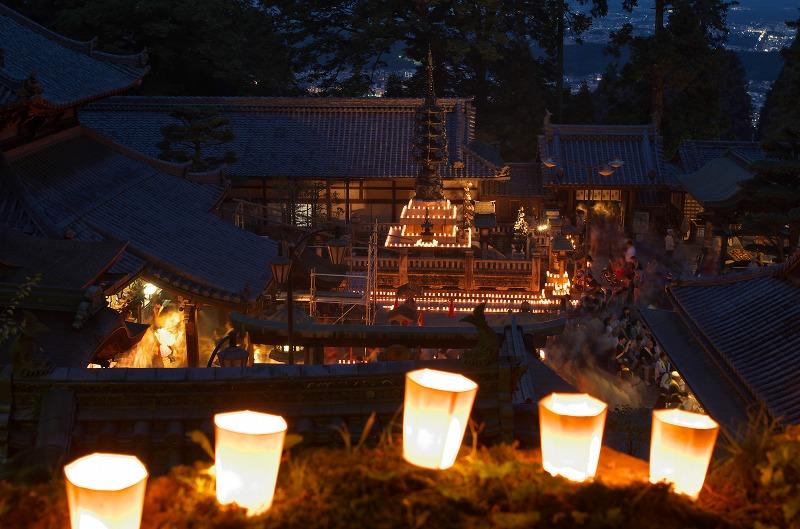 生駒聖天 お彼岸万燈会(宝山寺)