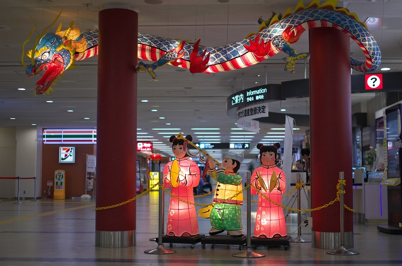長崎空港 人形