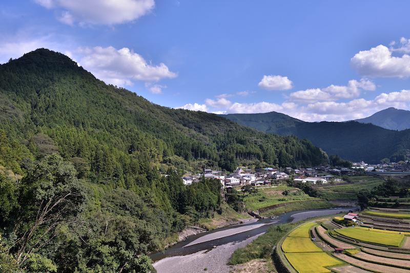 和歌山 棚田 あらぎ島