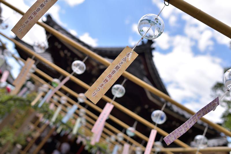 奈良 寺 お祭り 夏 風鈴 おふさ観音
