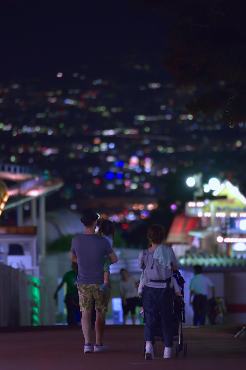 生駒山上遊園地 ナイター営業