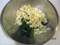 コマツナの卵サラダ3
