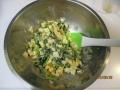 コマツナの卵サラダ5