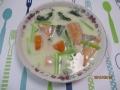 鮭とコマツナのシチュー1
