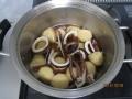 イカとサトイモの煮物6