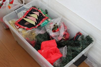 衣裳ケース クリスマス用品