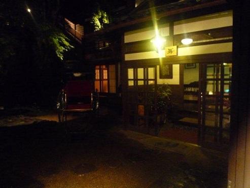 音羽山荘 夜