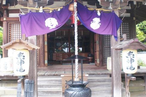 箕面のお寺