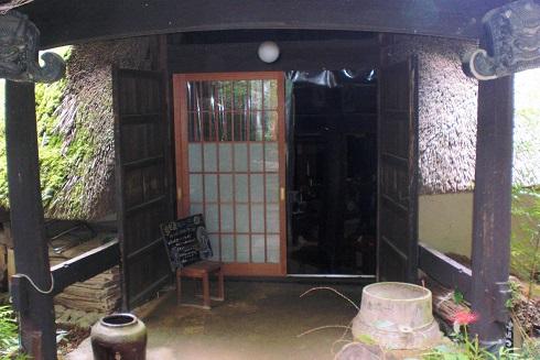 縄文カフェ 玄関