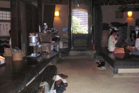 縄文カフェ 中2