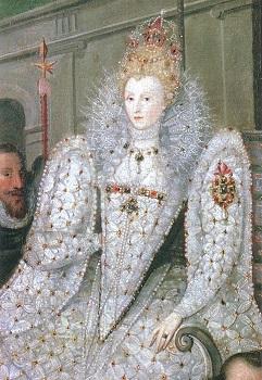 エリザベス1世 1600年頃