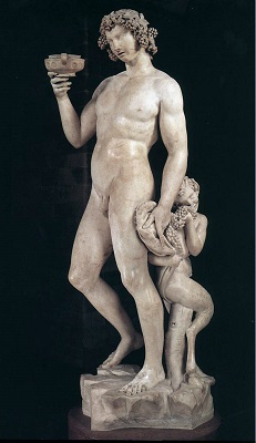 『バッカス像』(1497年)