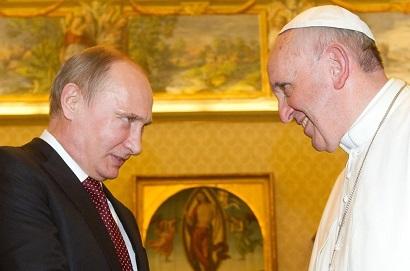 プーチンと法王