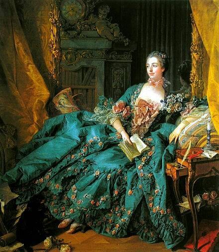 ポンパドゥール夫人(フランソワ・ブーシェ、1756年)