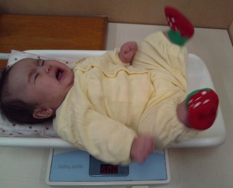 生後3か月体重