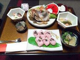 百日のお膳2