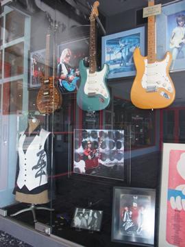 松本さんのギター