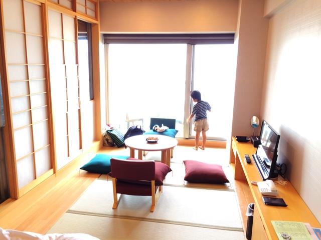 大洗ホテルの部屋