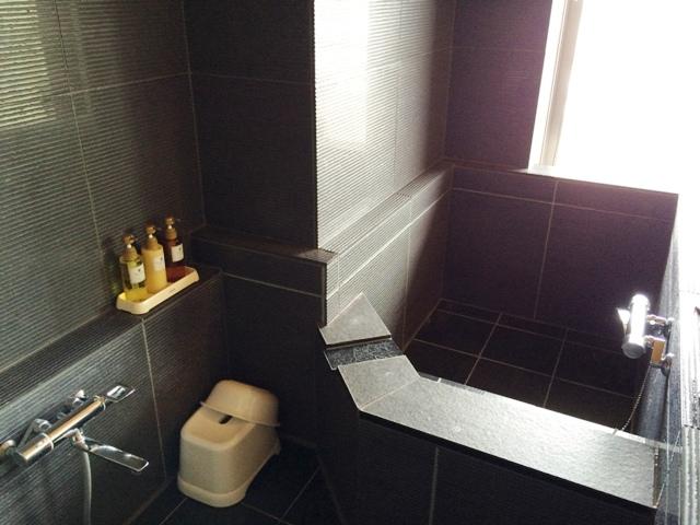 大洗ホテルの部屋のお風呂