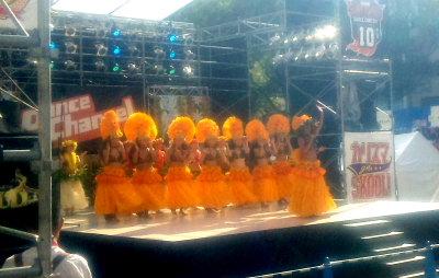 タヒチアンダンス。