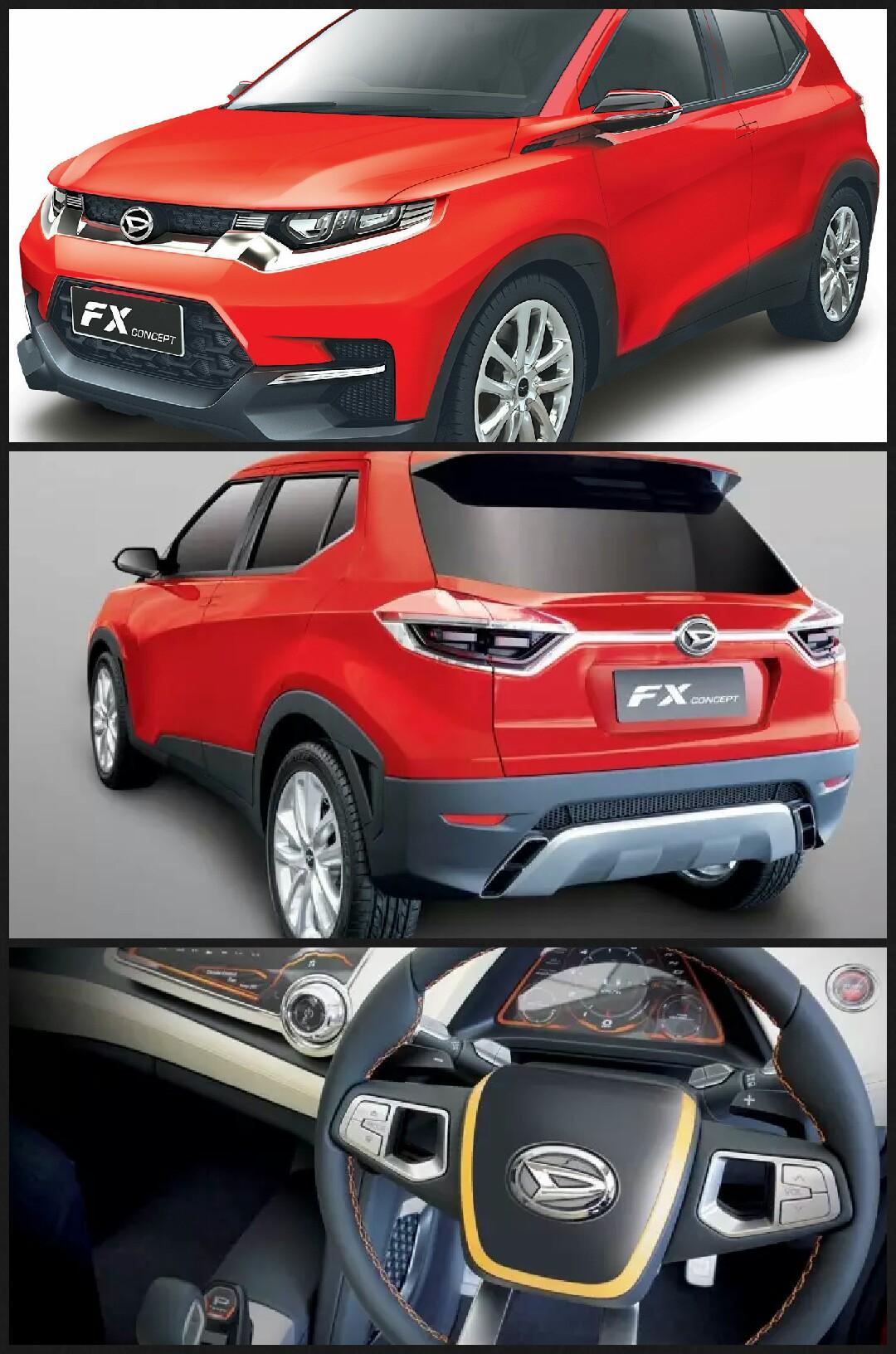 ダイハツ 新型SUV FXコンセプト