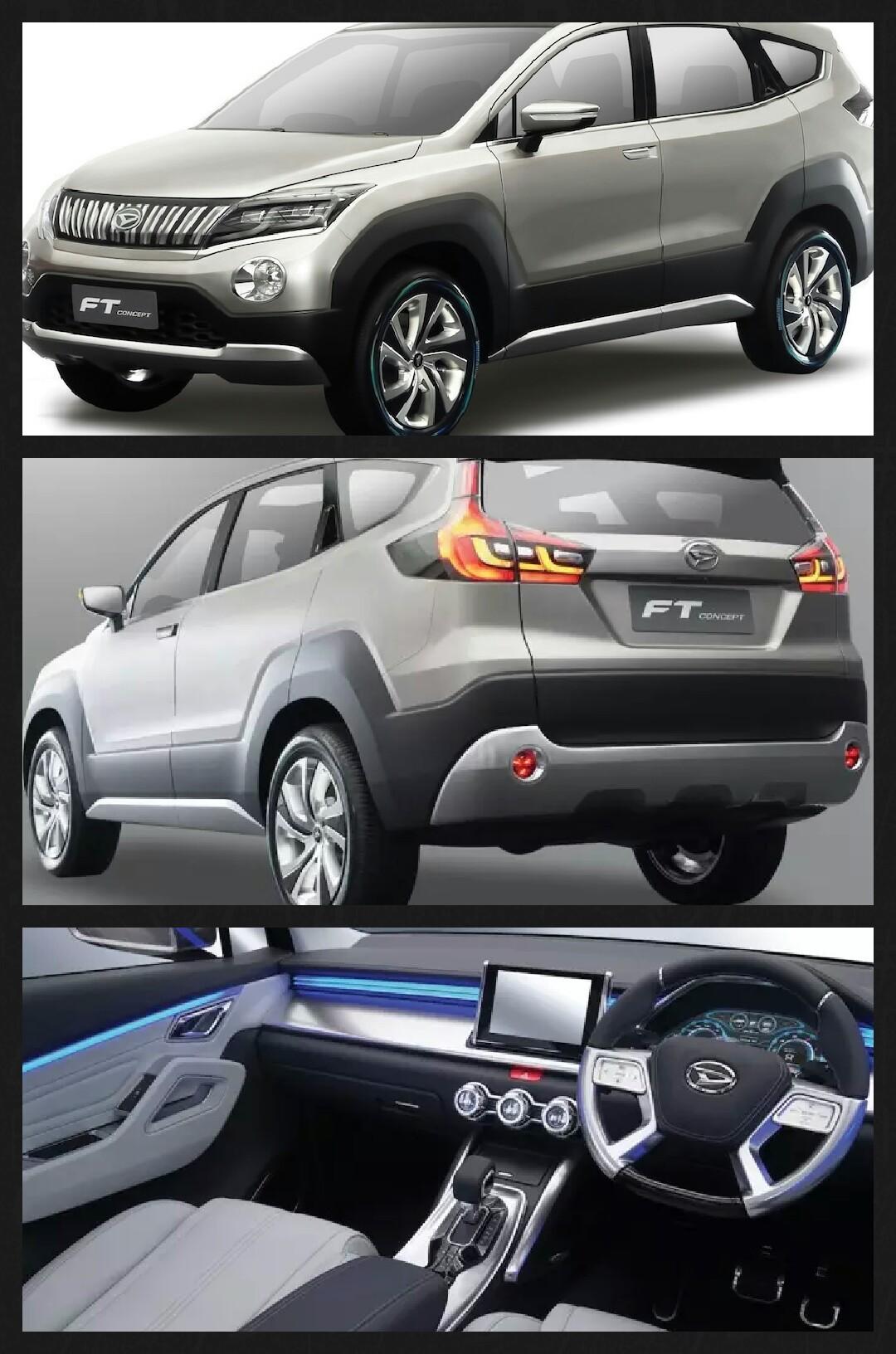 ダイハツ 新型SUV FTコンセプト